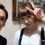 AKB48小林香菜さんのヘア。