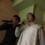 副社長とカラオケと残像。