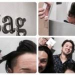 髪がヤバいので柏の聖地【#tag】でカットしてもらった。