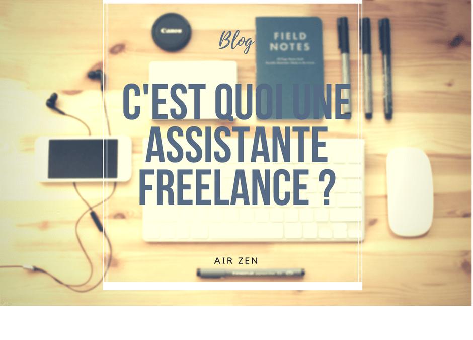 Au fait, c'est quoi une assistante administrative freelance ?