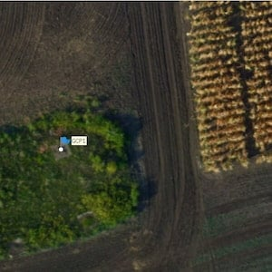 AIR: Precise obtained map data correlation with geographical location (agriculture)