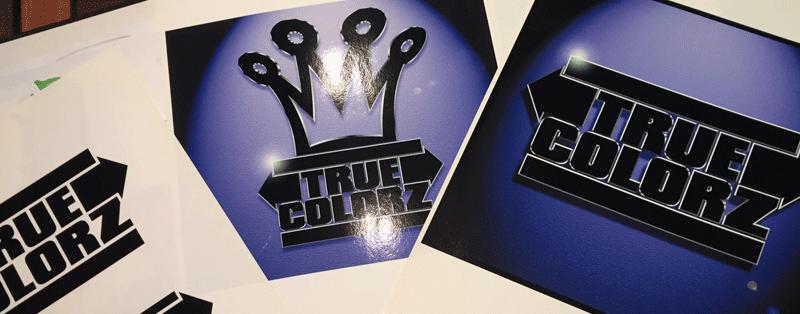 Logo de la marque True Colorz réalisé par Air