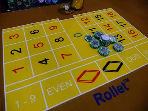 インサイドベットの賭け方・配当について