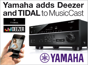 Yamaha adds Deezer and TIDAL through airable.API