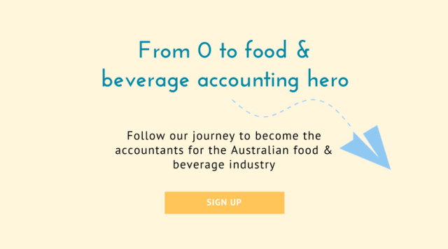 Grow your food & beverage business and Follow our journey to Australia's number 1 Food & Beverage Industry Accountants.