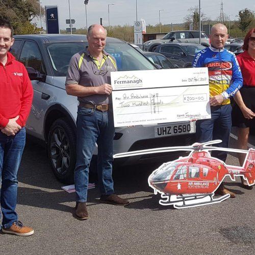 Fermanagh Motorcycle Club Ltd raised £200