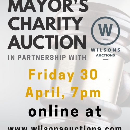Mayor's Auction - A4 poster