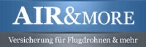 Drohnen Versicherung: Airandmore Logo klein