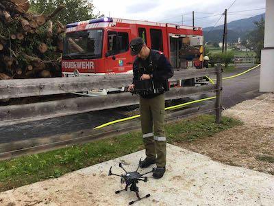 Aviscopter Harald Meyer Feuerwehr Drohnen Seminare