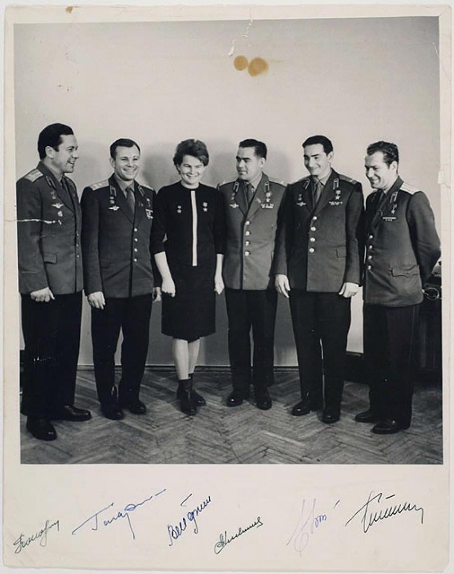 Les six premiers cosmonautes