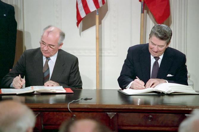 Image result for reagan gorbachev summit