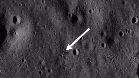Apollo 11 Landing Site National Air and Space Museum