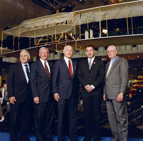 Don Lopez, General John Dailey, John Glenn, John Travolta ...