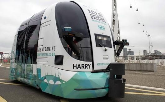 Londra: in prova il primo autobus senza conducente!