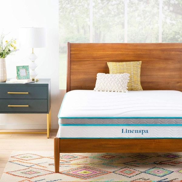 Linenspa Mattress in bed
