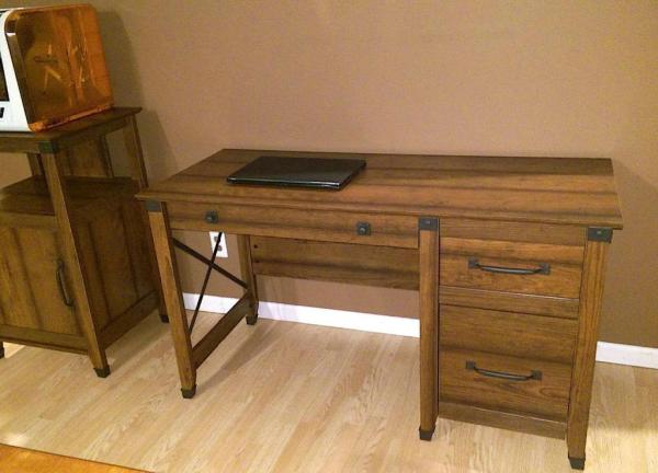 [Review] Sauder Carson Forge Desk