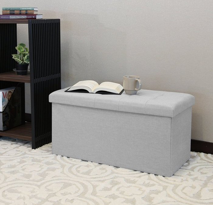 [Review] Seville Classics Foldable Storage Ottoman Bench