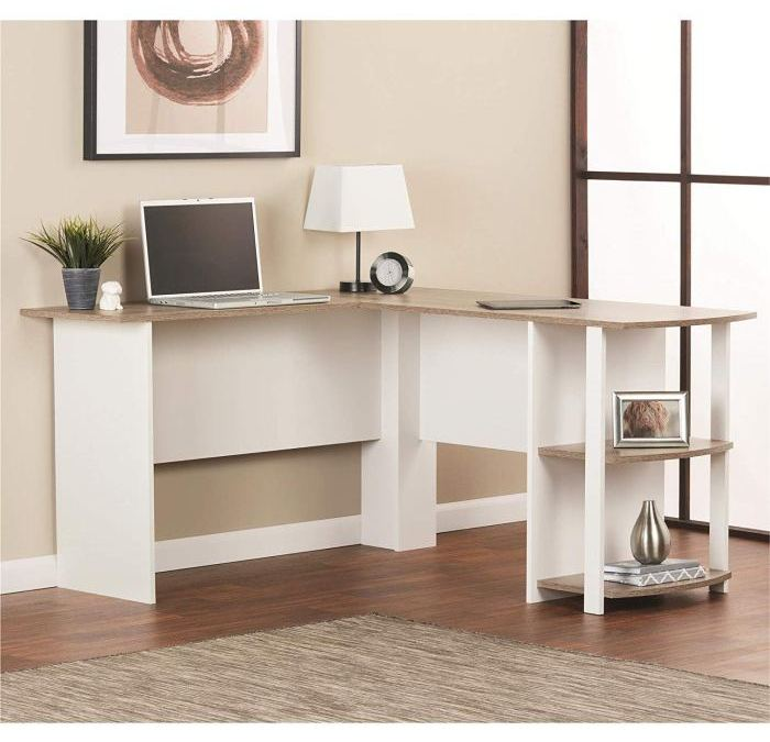 [Review] Ameriwood Home L Shaped Desk with Bookshelves