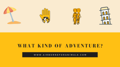 What kind of adventure do you want - where in the world do I go next?