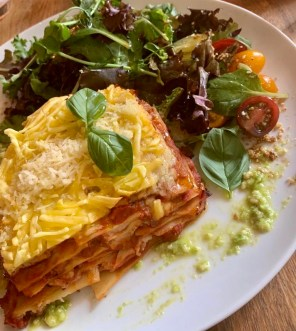 A lasagne I had at the meatless district in Amsterdam for my 20th birthday