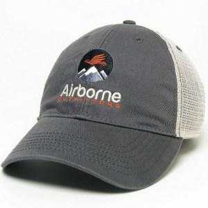 Grey Soft-mesh Trucker cap