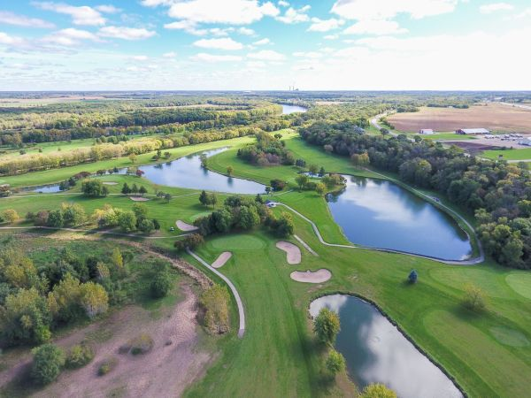 aerial picture of the preserve