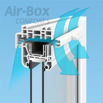 Оконные вентиляционные приточные клапаны Air-Box для ...