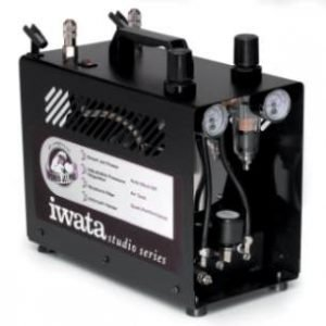 Iwata-Medea Power Jet Pro Double Piston Air Compressor