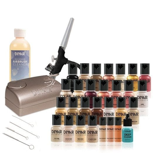 Dinair Airbrush Makeup Deluxe Professional Kit Review