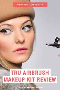 TRU airbrush makeup kit review