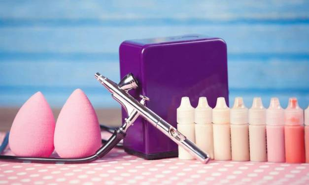 Airbrush Makeup Set by Pinkiou Product Review