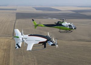 The final test flight of Vahana