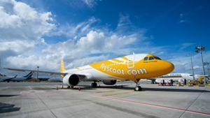 Scoot's 1e A321neo op Singapore Changi Airport