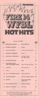 1390 Syracuse WFBL Hot Hits
