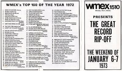 1510 Boston WMEX 1972 Survey