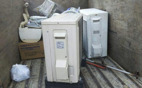 呉市でエアコンの回収
