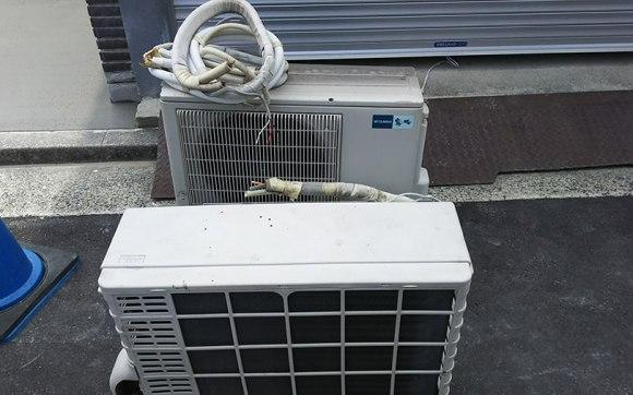 引越し先となる一軒家での古いエアコンの取り外しと回収
