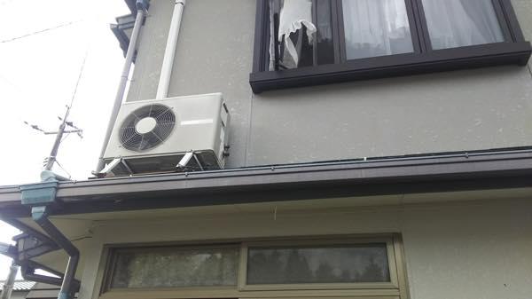 東広島で引越し後の一軒家で4台のエアコンの取り外しと引き取り