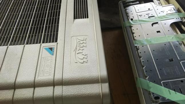 安芸郡府中町で取り外し済みの家庭用エアコンの回収
