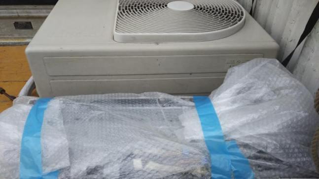 広島市東区で引っ越しのためのエアコンの引き取り回収
