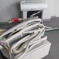 広島市東区牛田で引っ越しをされる方のエアコン2台の引き取り回収