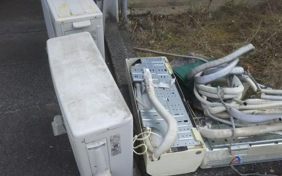 引っ越しのエアコン、不用品回収