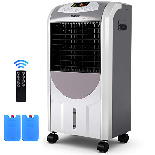 Costway Air Cooler And Heater Compact Portable Air