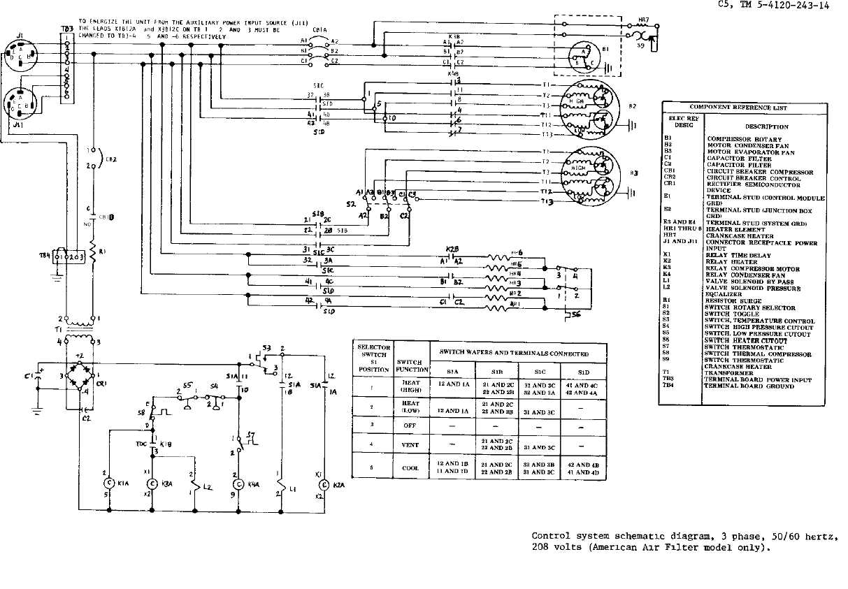 TM 5 4120 243 14_153_1?resize\\\=665%2C462 lighting control panel wiring diagram lighting contactor lighting control system wiring diagram at gsmx.co