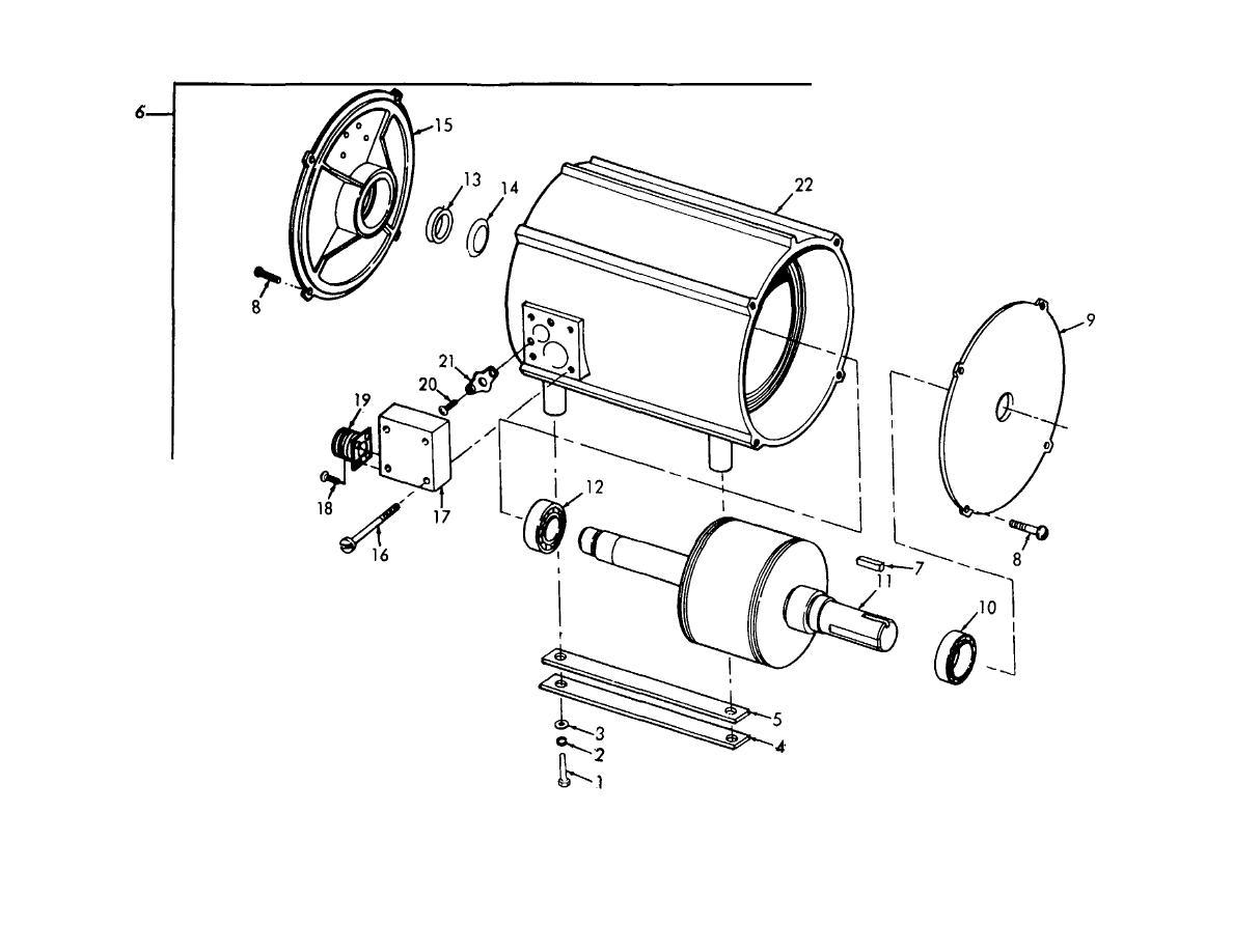 Figure 6 Condenser Fan Motor