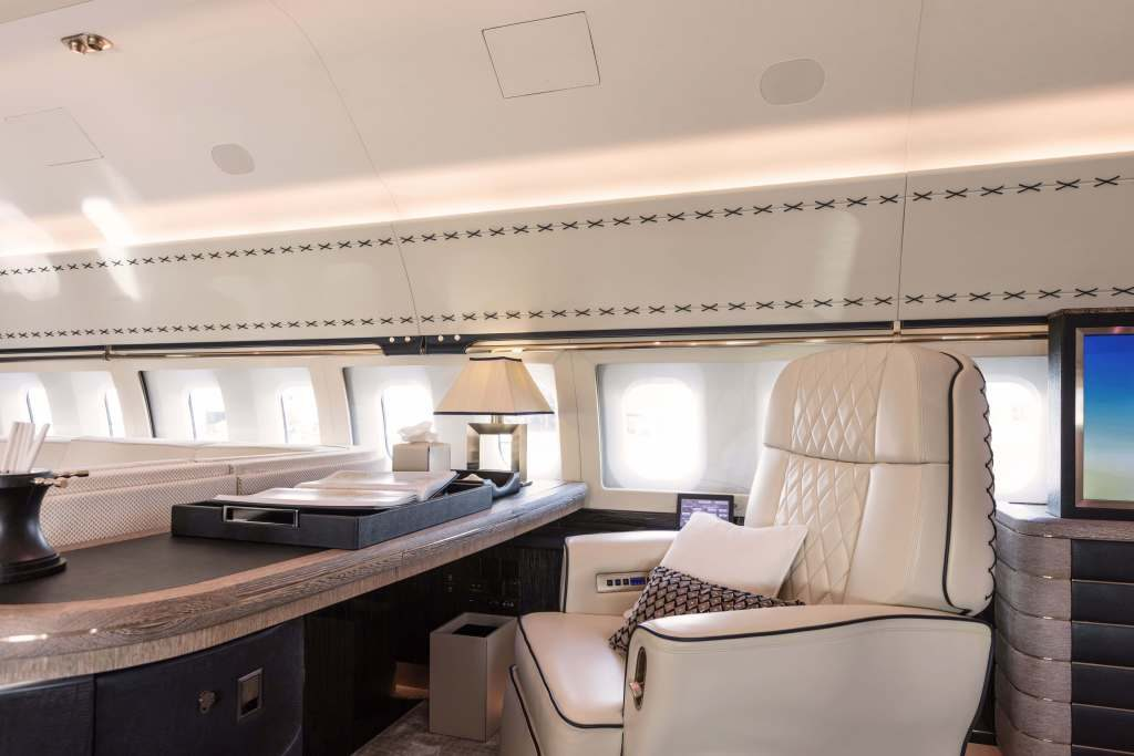BBJ 1 With Interior By Winch Design Is A Flying Home