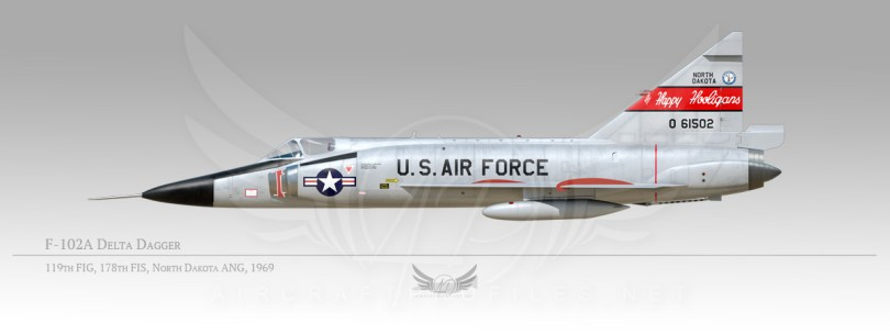 F-102A Delta Dagger, 119th Fighter Interceptor Group, 178th Fighter Interceptor Squadron, 1969