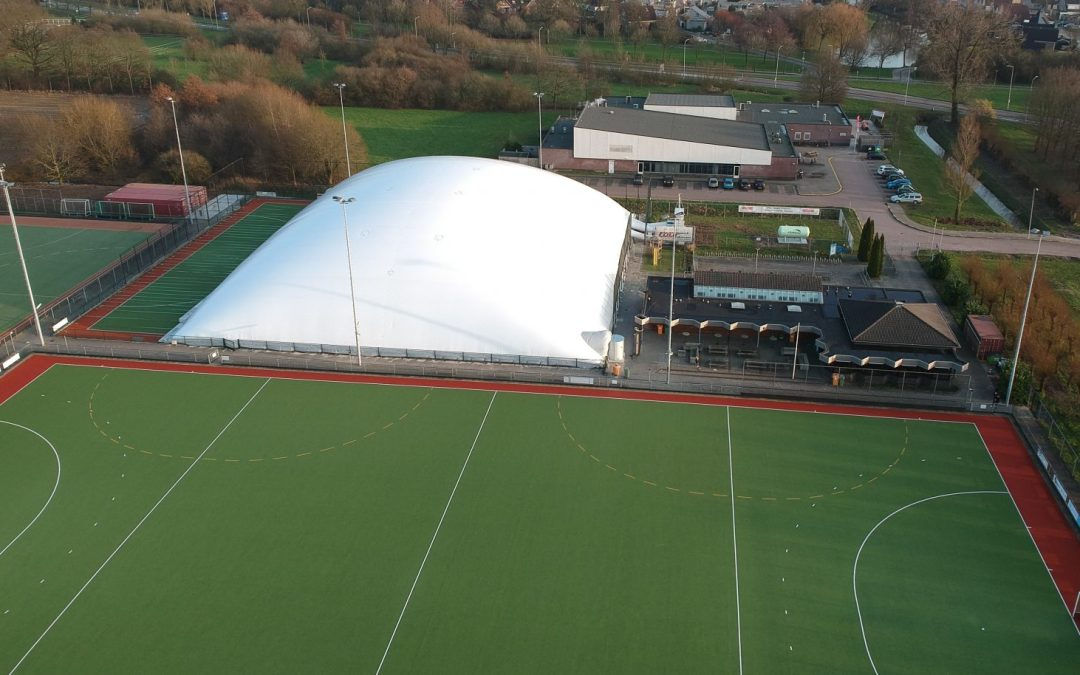 Afbouw AirDome in weekend 23/24 februari