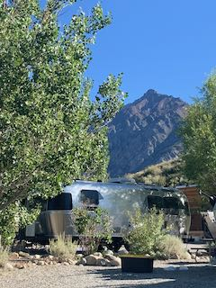 airstream trailer camping