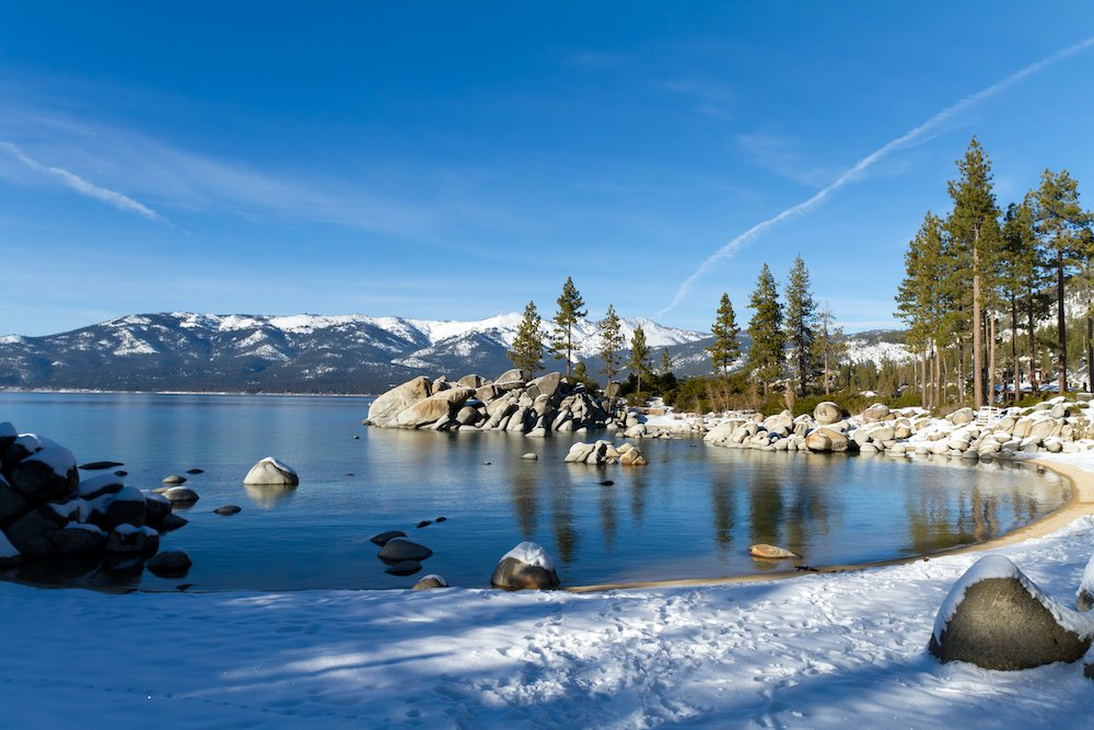 Lake Tahoe Winter RV Campgrounds